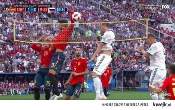Siatkoka Hiszpania-Rosja.