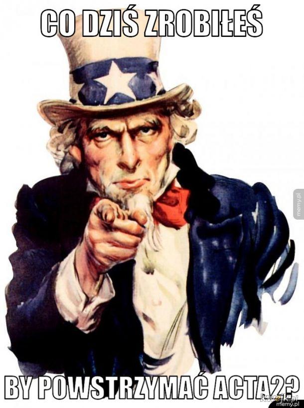 Zatrzymaj cenzurę ACTA2?