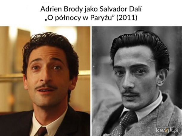Aktorzy niesamowicie podobni do postaci, które odgrywali