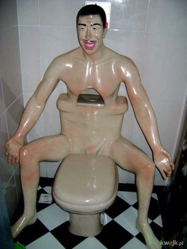 Zdjęcia  toalet, które sprawią, że możesz się poczuć niekomfortowo