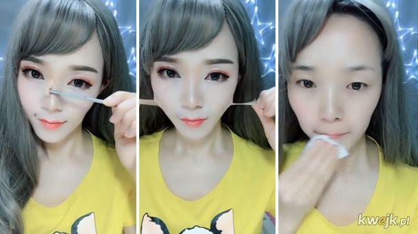 Azjatki ściągające makijaż - i to dosłownie - sprawią, że będziesz mieć problemy z zaufaniem