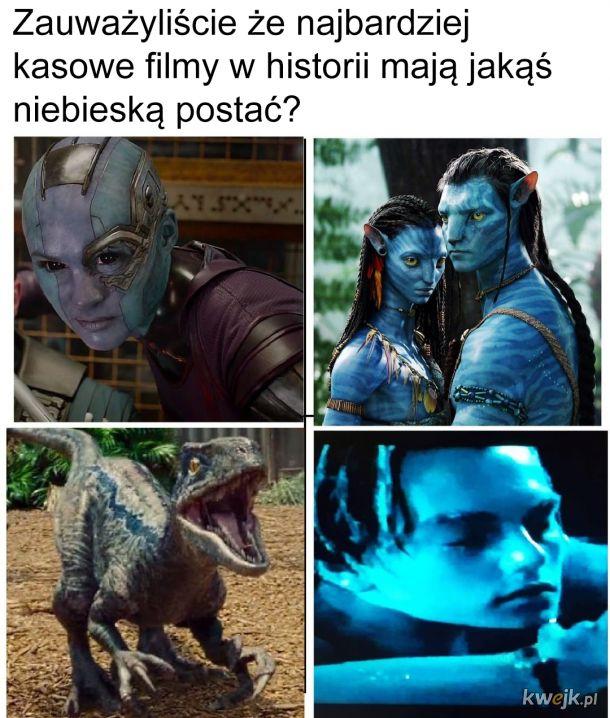 Niebieska postać