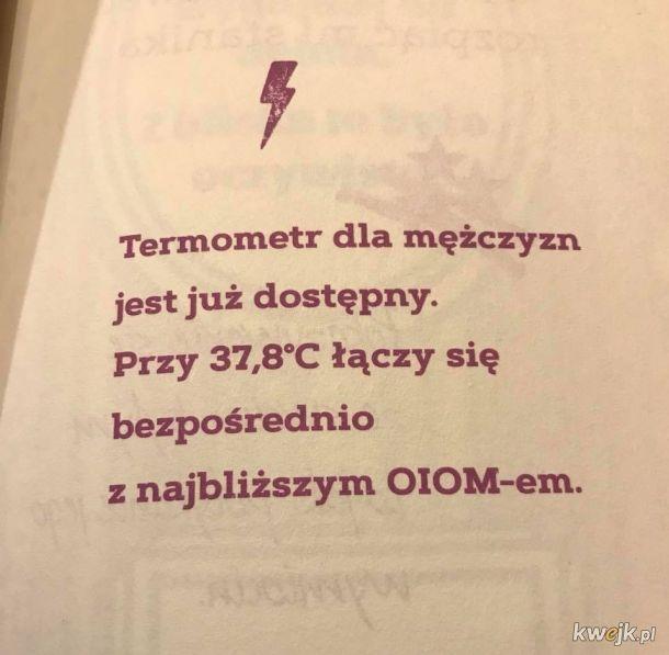 Termometr dla mężczyzn