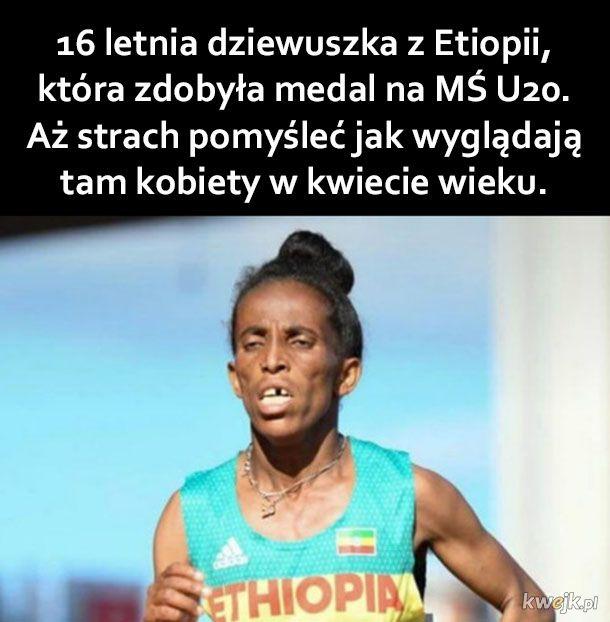 Dziewuszka z Etiopii