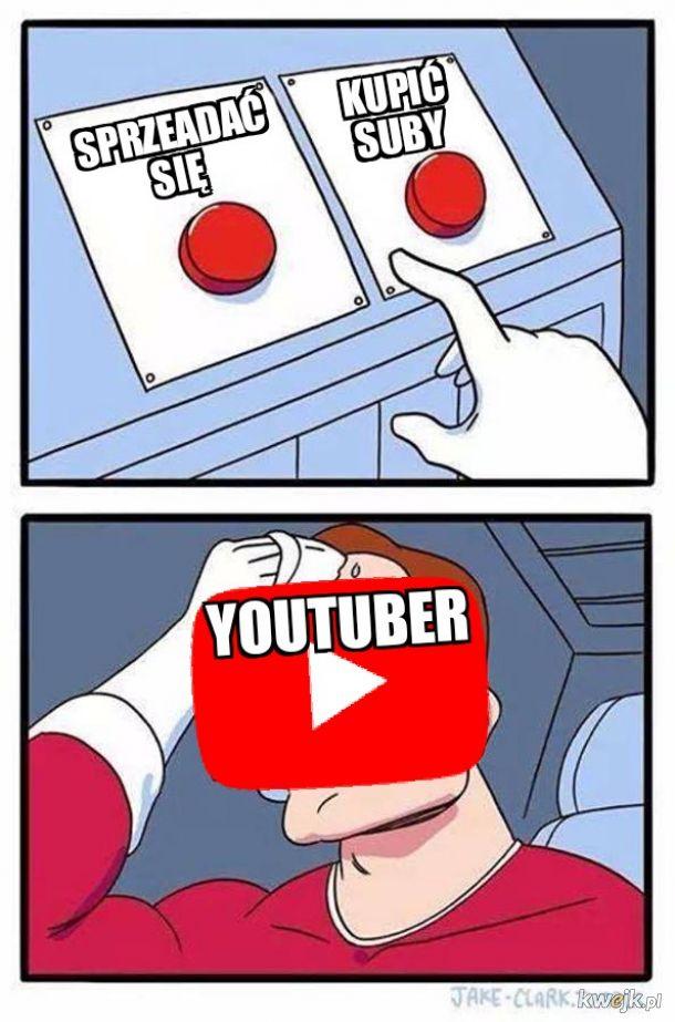 Ciężki wybór Youtubera