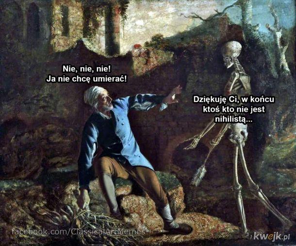 Śmierć przyszła po człowieka