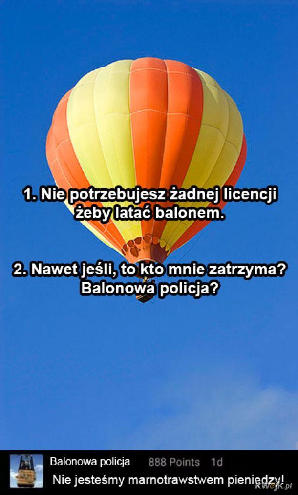 Balonowa policja