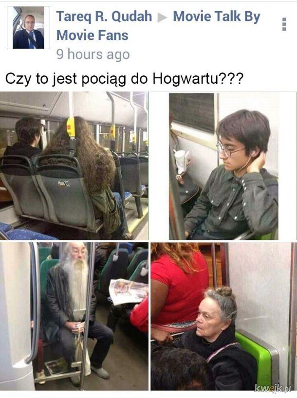 Pociąg do Hogwartu