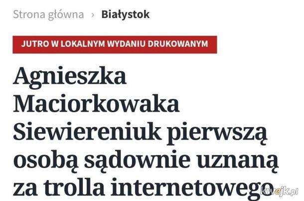 I tak powoli żyją w tym Białystoku