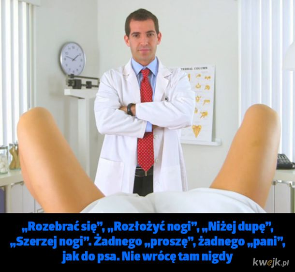 Oburzające wypowiedzi ginekologów