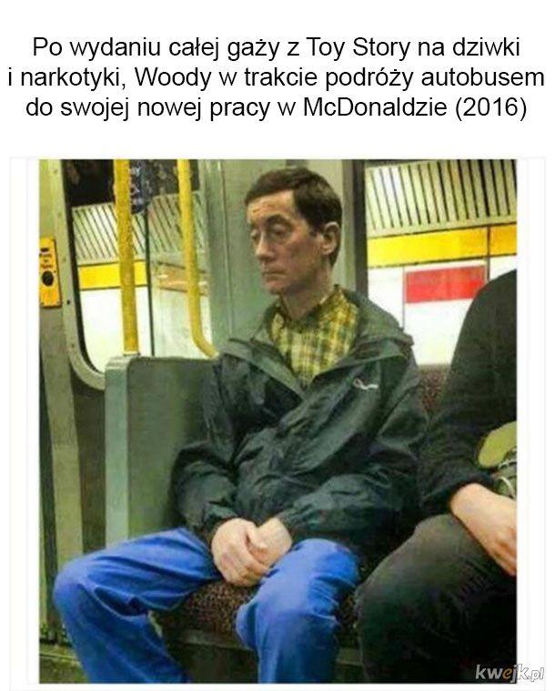 Woody w drodze do nowej roboty