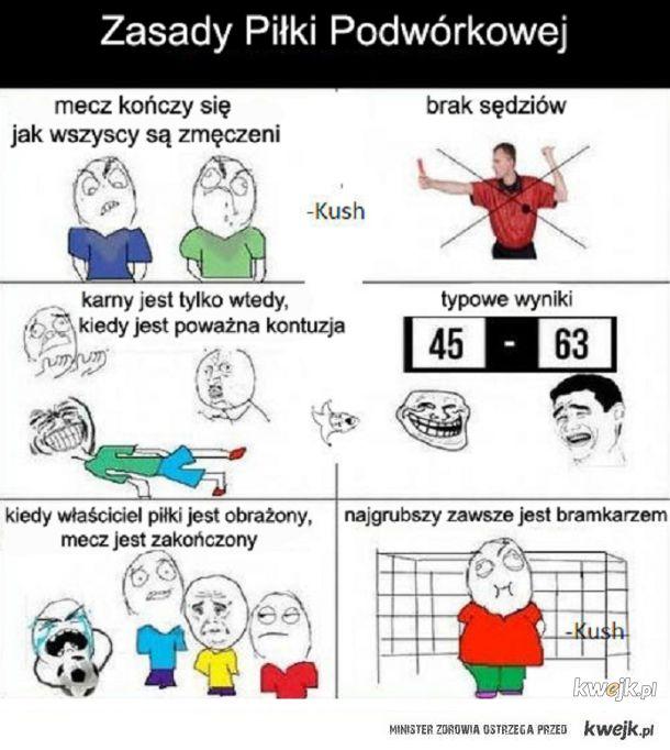 Zasady piłki podwórkowej
