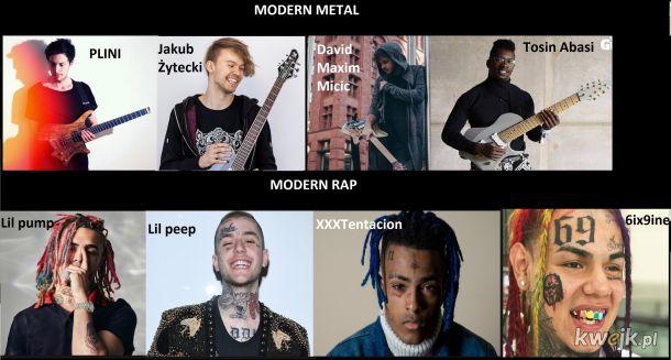 Metal vs Rap
