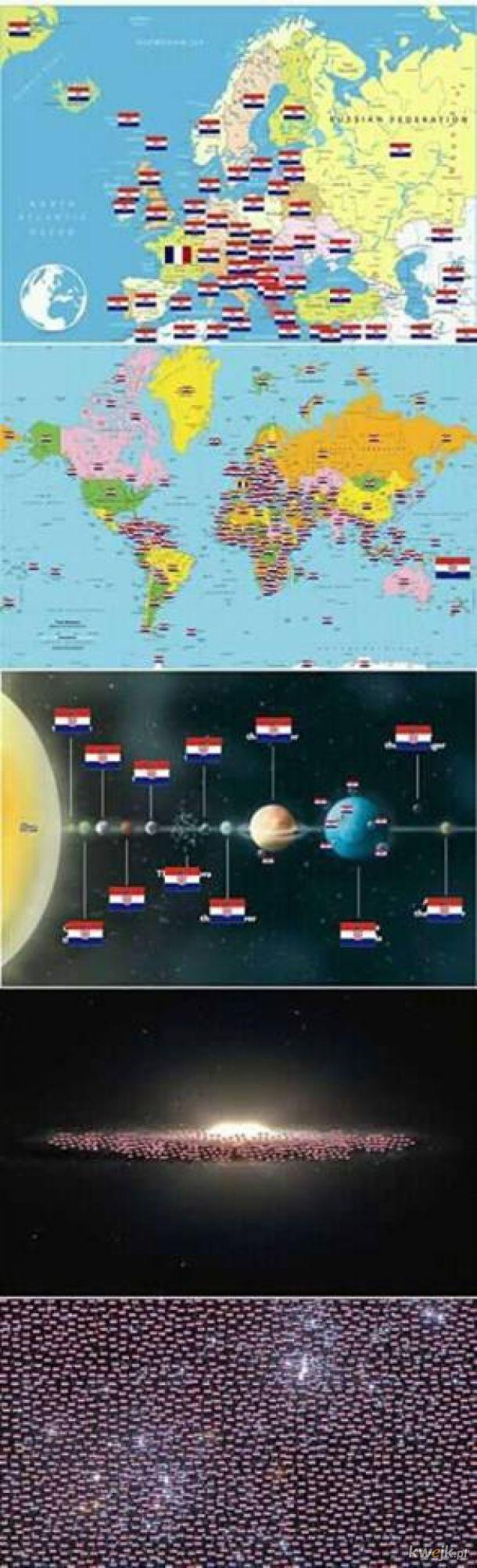 Cała galaktyka za Chorwacją