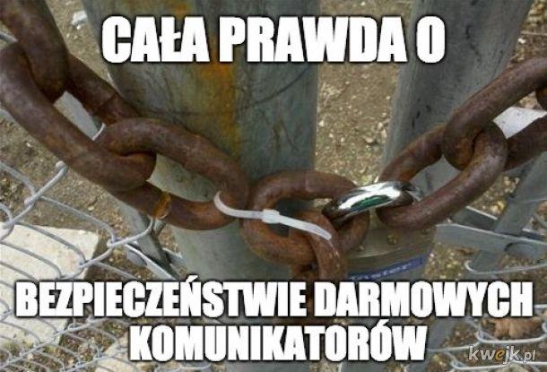 Darmowe komunikatory i bezpieczeństwo :)