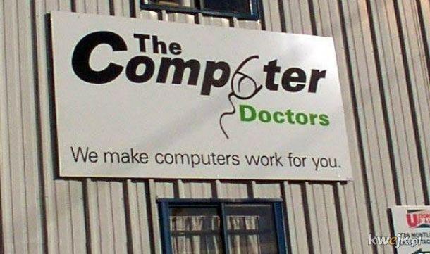 The Computer Doctors a Ty co zobaczyłeś