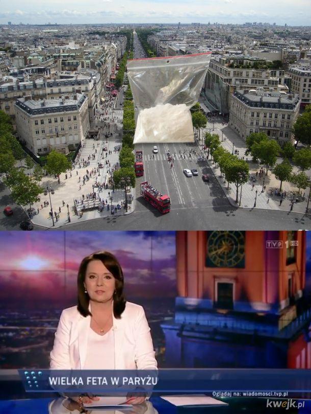 Wielka feta w Paryżu