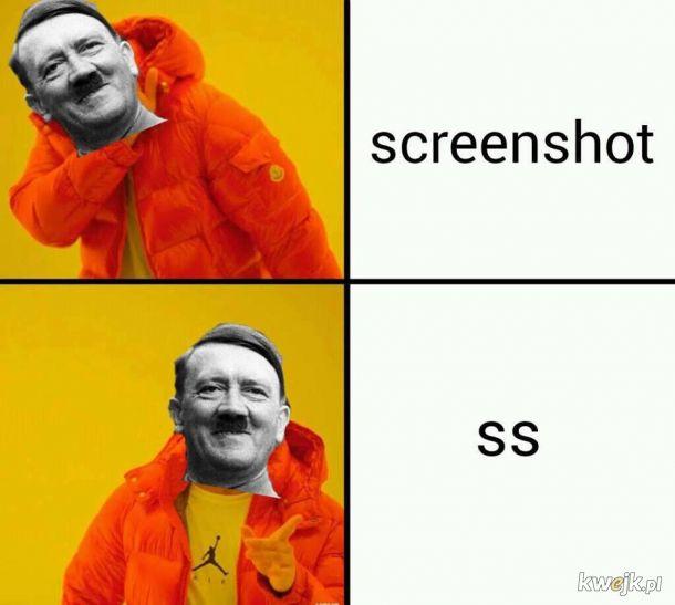 Adolf zadowolony