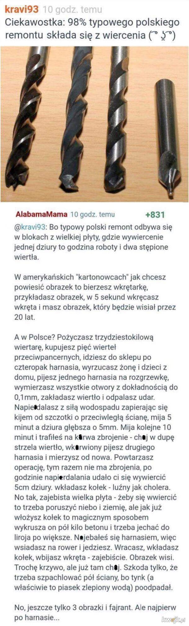 Polski remont w pigułce
