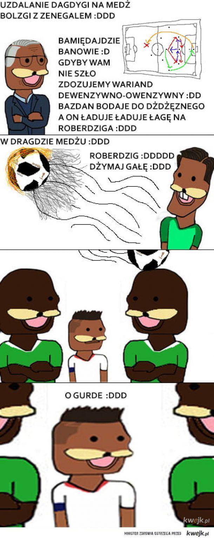 Taktyka na mecz z Senegalem