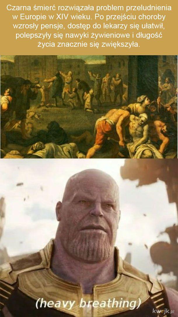 Thanos dobrze kombinuje