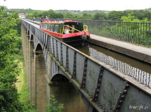 18-kilometrowy akwedukt z kanałem wodnym (Walia)