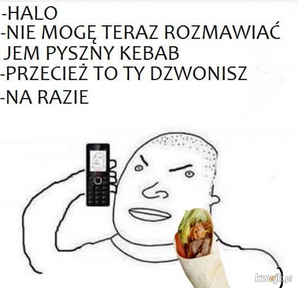 Każdy ma znajomego eksperta od kebabów
