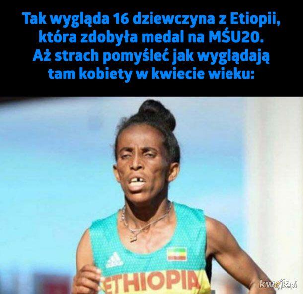 Dziewuszka z Etiopii...
