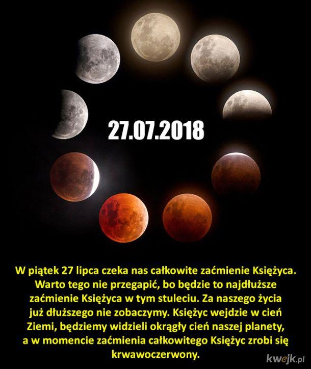 Najdłuższe zaćmienie Księżyca w tym stuleciu już w piątek!