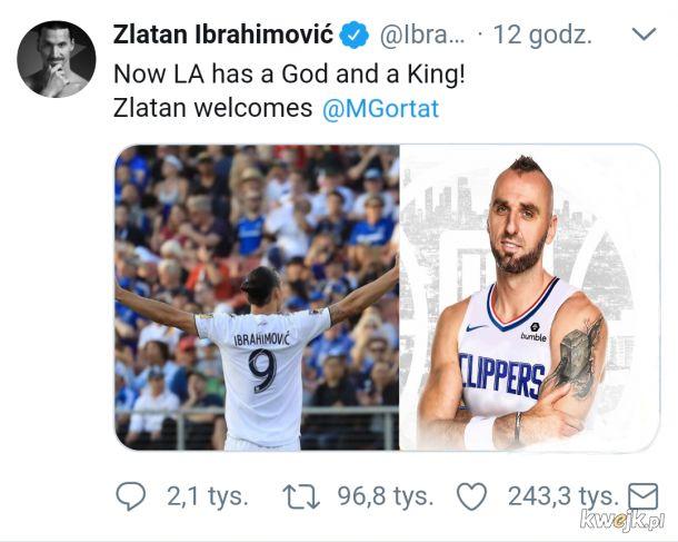 Piękny gest Zlatana wobec Marcina