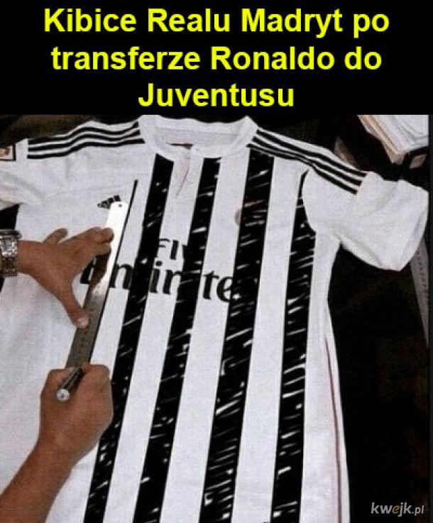 Cristiano Ronaldo w Juventusie! - memy