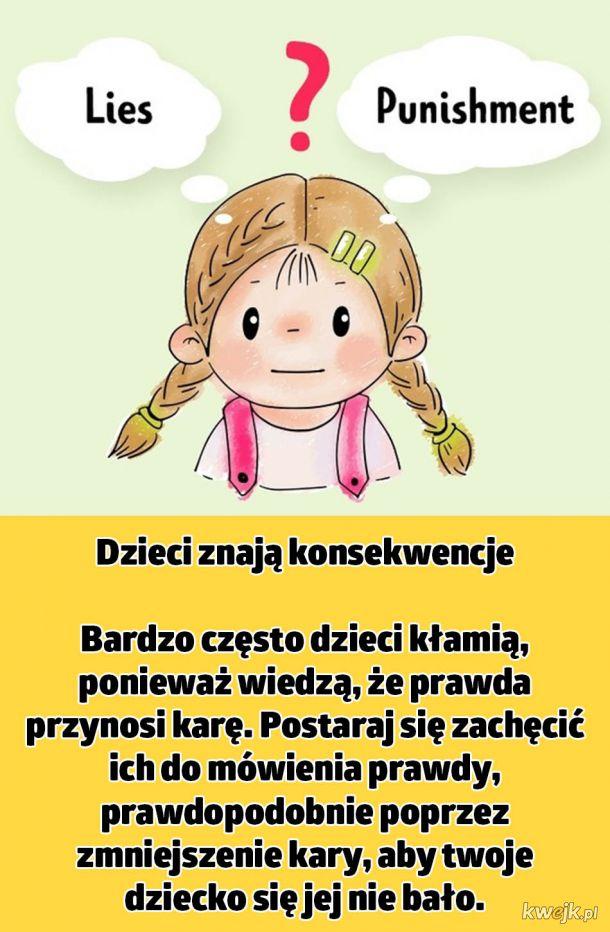Błędy, których powinieneś unikać, aby twoje dziecko przestało kłamać