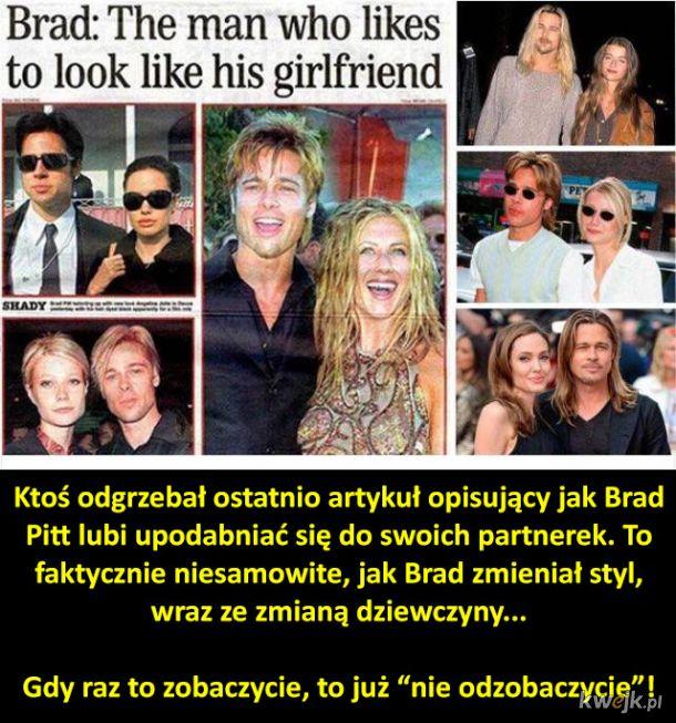 Brad Pitt to kameleon
