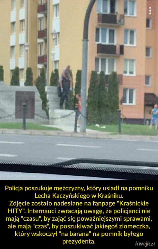 Policja szuka