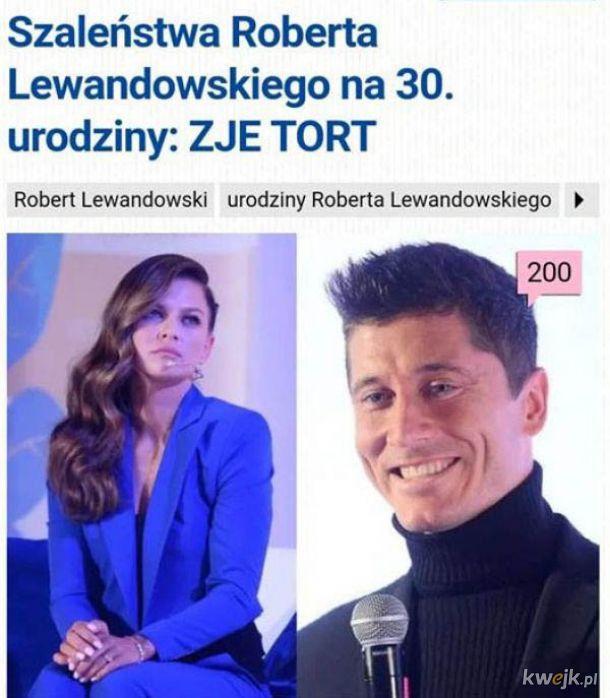 Szaleństwo Lewandowskiego