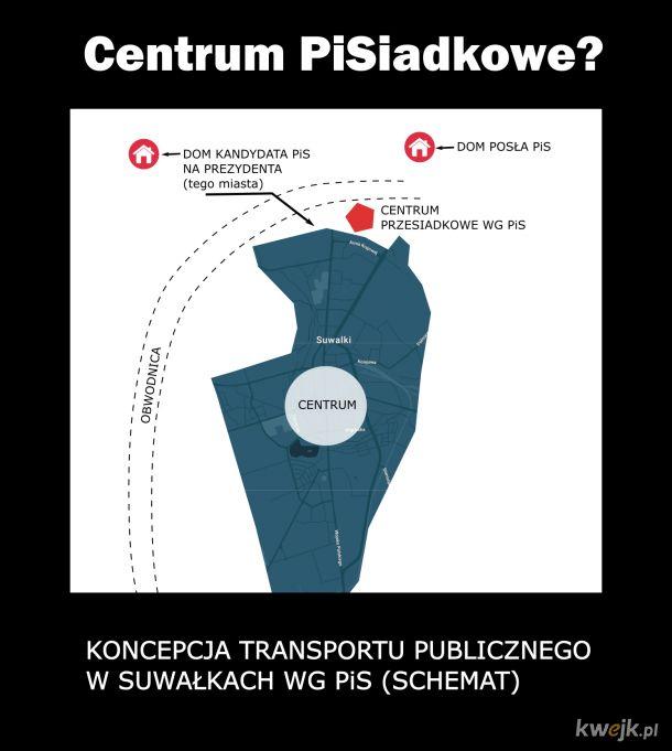 Transport w Suwałkach wg PiS