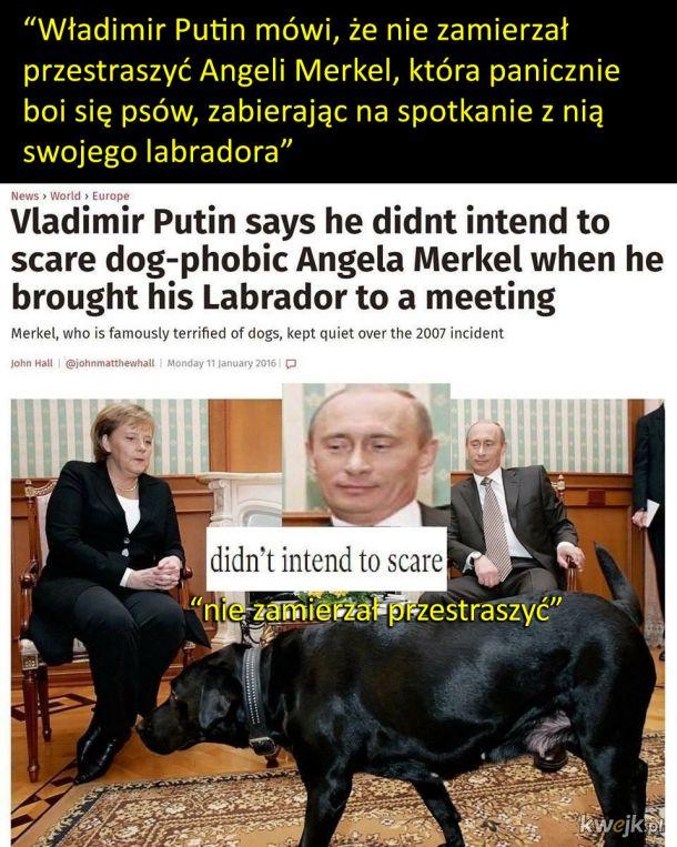 Putin śmieszek