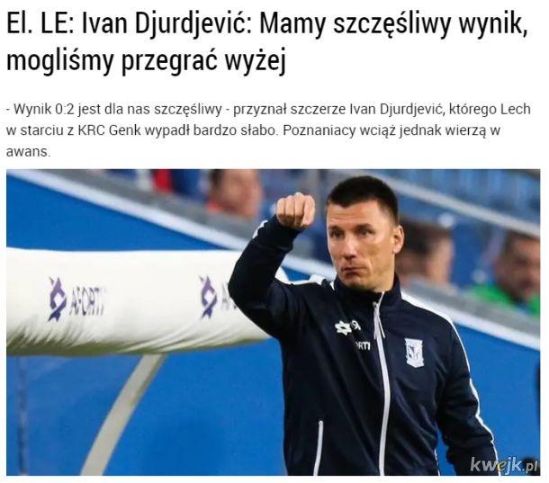 Sukcesy polskiej ligi piłki nożnej