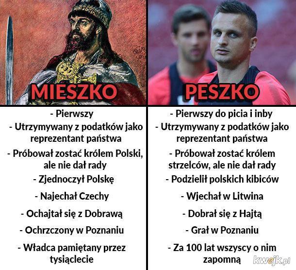 Mieszko vs Peszko