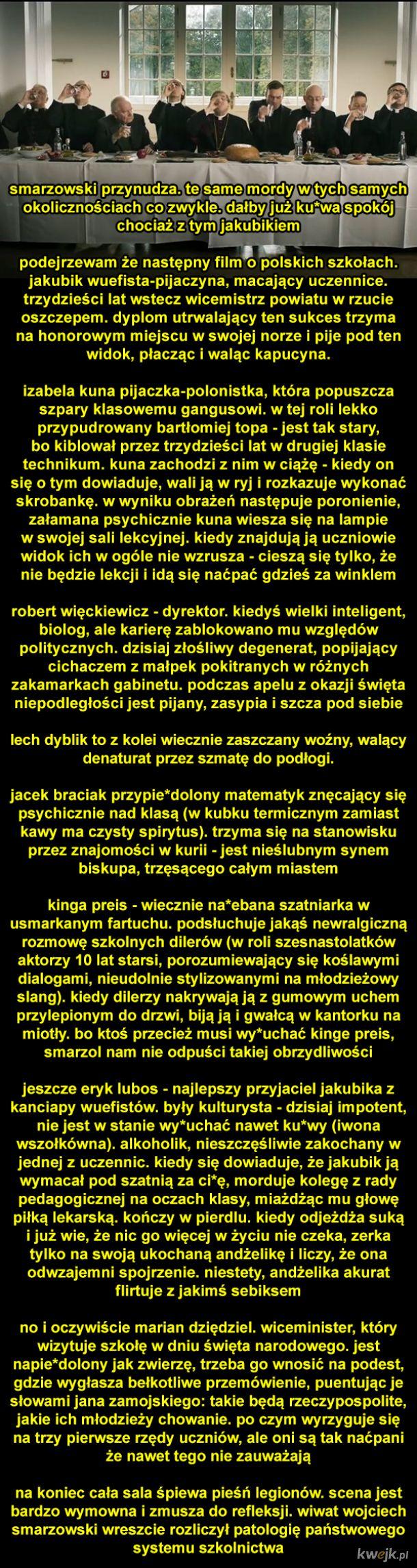Nowy film Wojtka Smarzowskiego