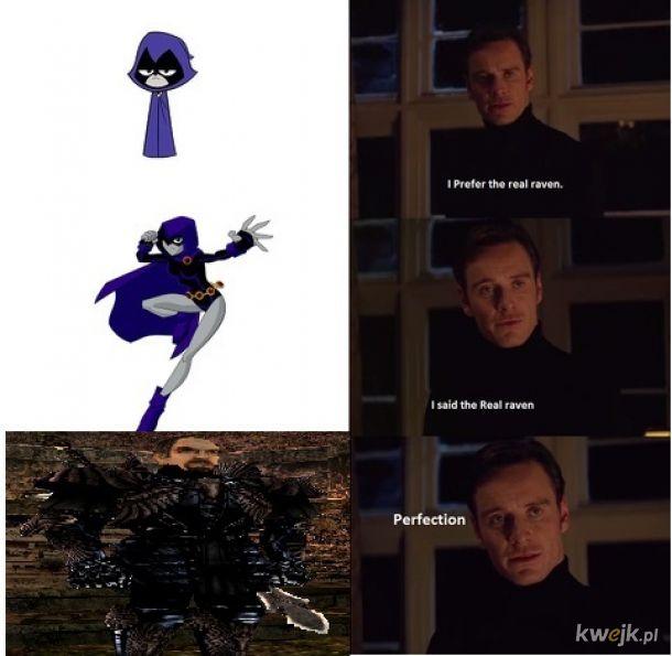 Prawdziwy kruk jest tylko jeden.