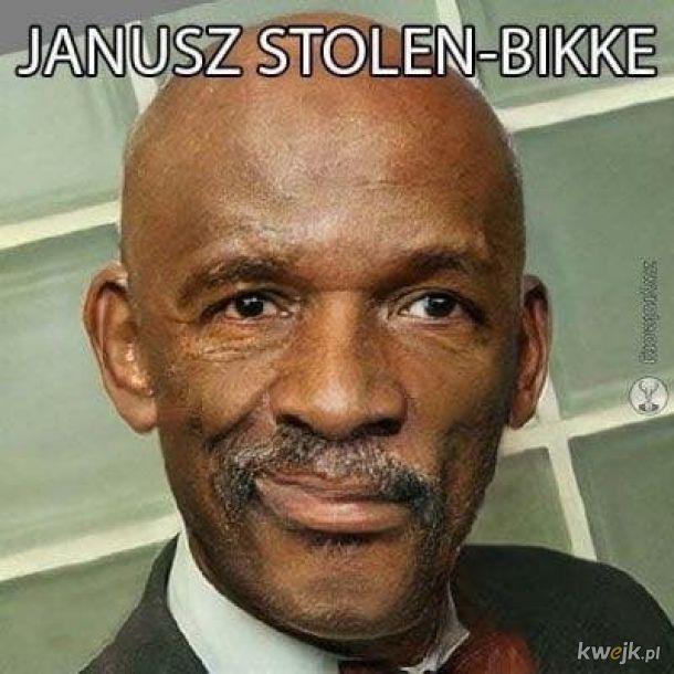 Janusz stole My bike.
