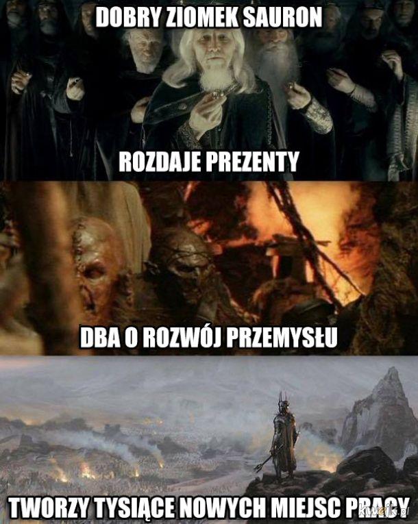 Śmieszki z Władcy Pierścieni