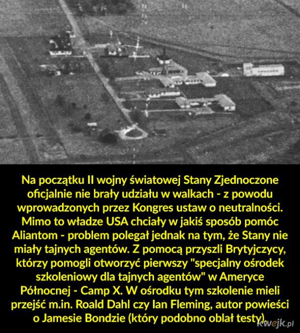 Camp X - ośrodek szkoleniowy dla szpiegów z czasów II wojny światowej