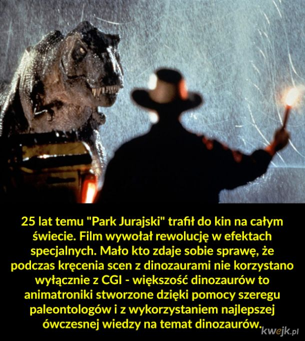 """Jak tworzono dinozaury w """"Parku Jurajskim"""""""