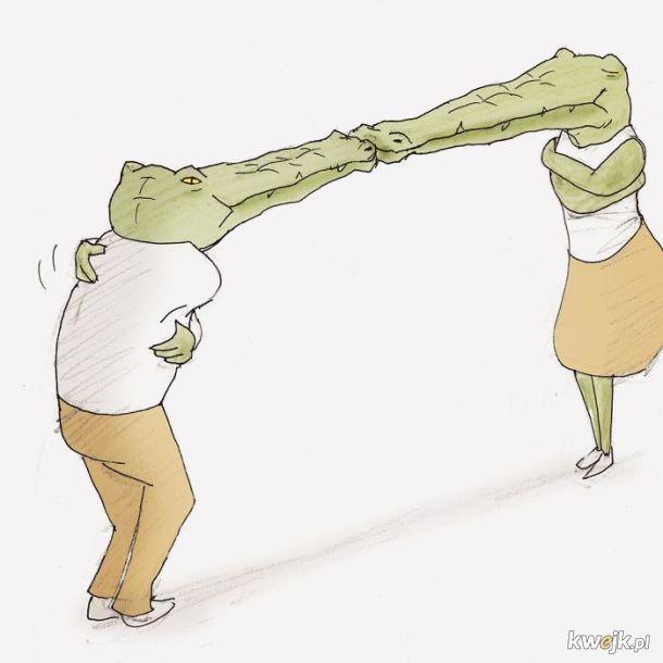 Problemy krokodyli autorstwa Keigo