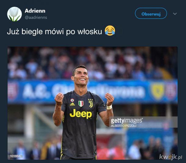 Ronaldo szybko się uczy