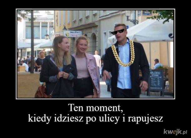 Ukrainiec i rusak rapują na ulice