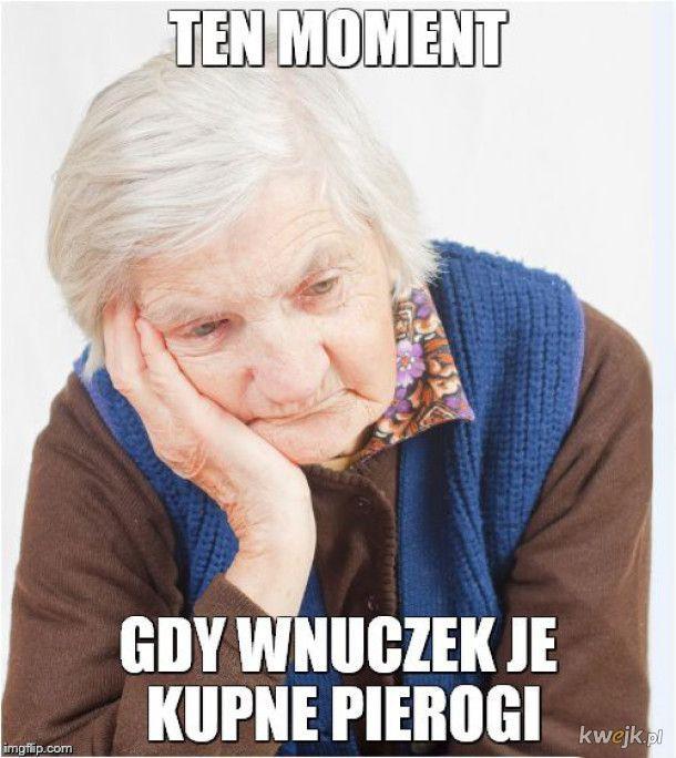 Trudne życie babci