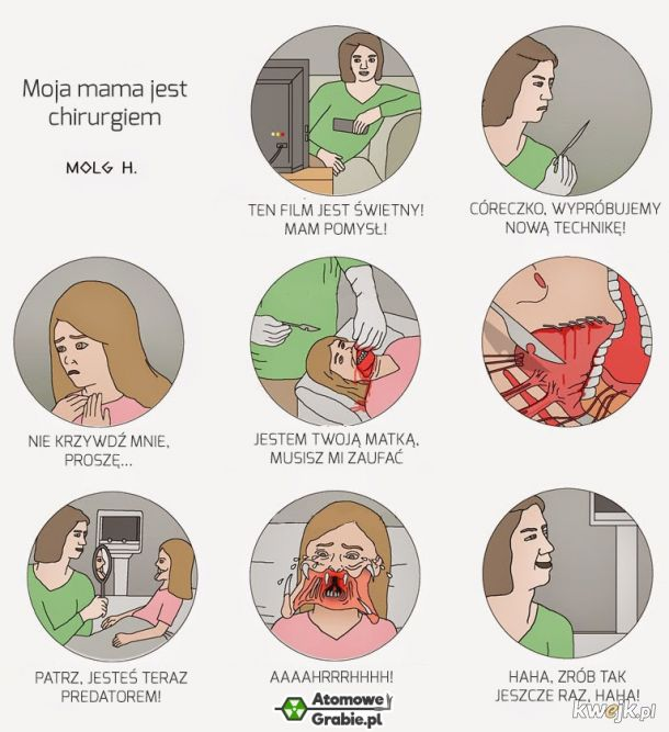 Moja mama jest chirurgiem